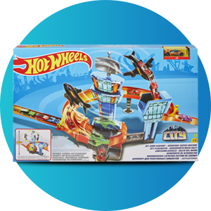 Buy Hot Wheels Jet Jump Airport Play Set Online At Low Prices In India Amazon In