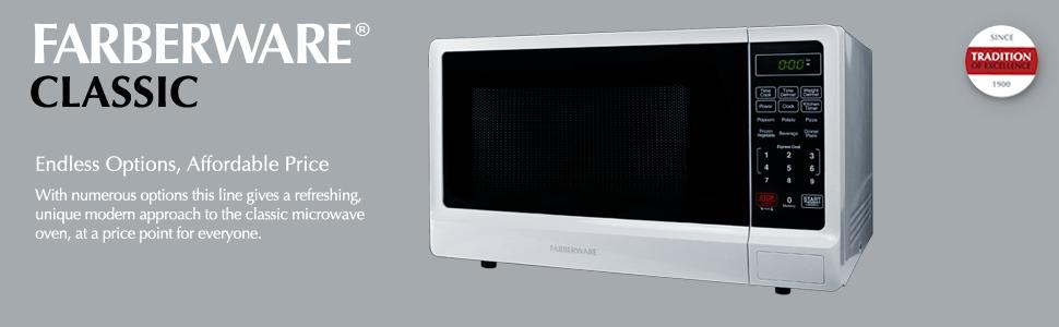 Amazon.com: Farberware Classic FMWO11ABTWHA horno microondas ...