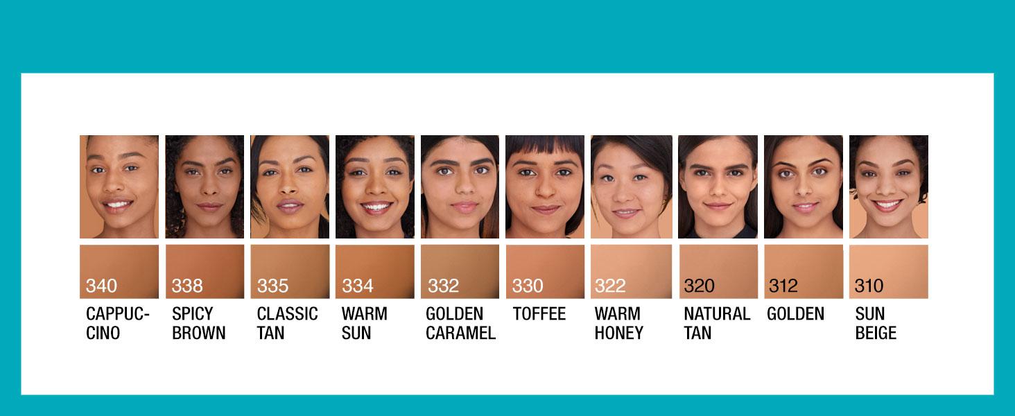 foundation for medium skin, beige skin, matte finish foundation, foundation for oily skin