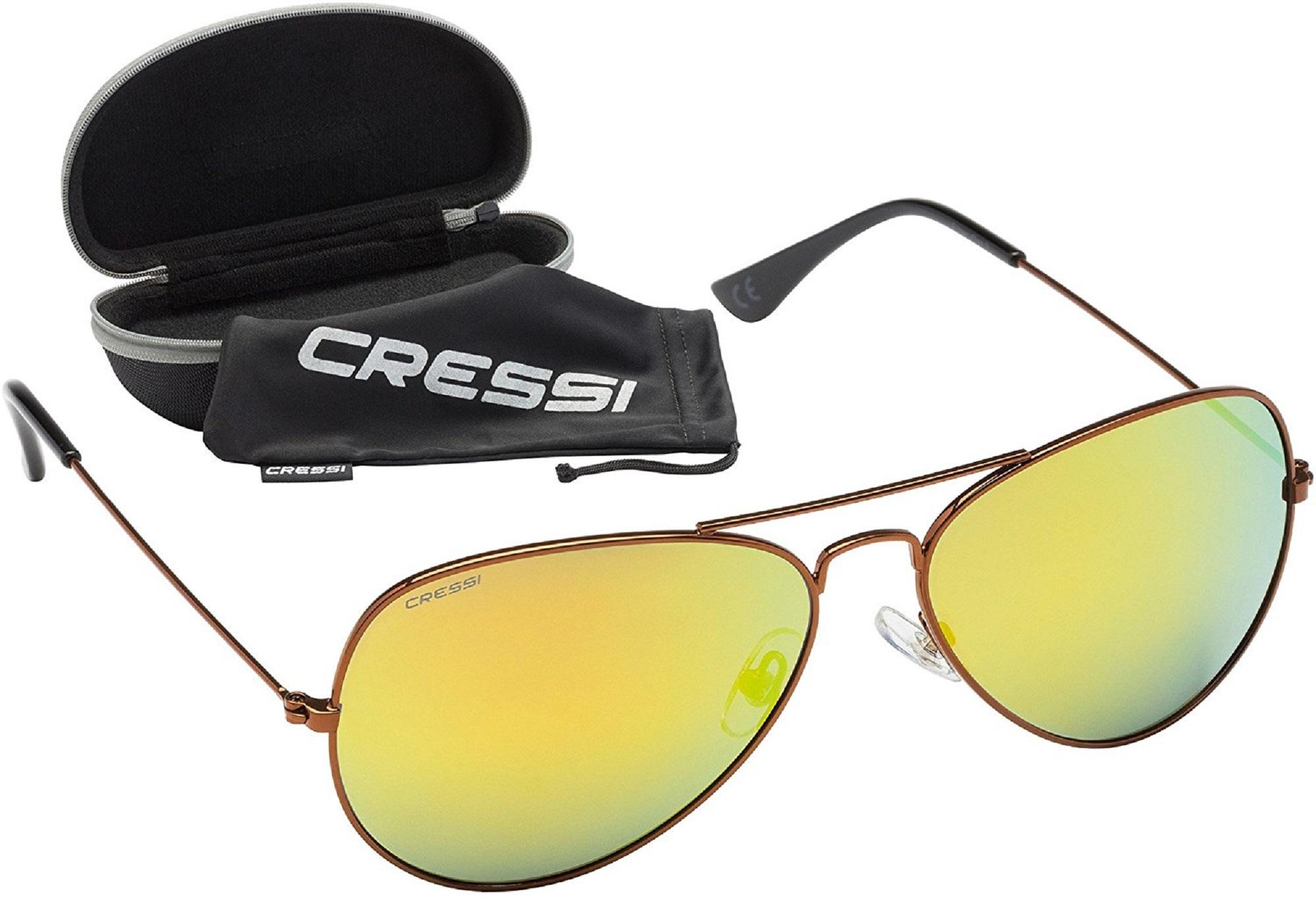 Cressi Nevada Sonnenbrille, Schwarz/Grau Linses, One Size