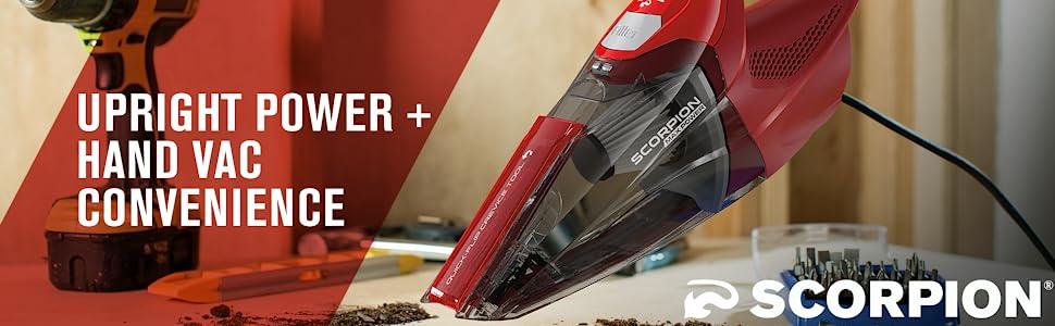 scorpion hand vac vacuum portable powerful