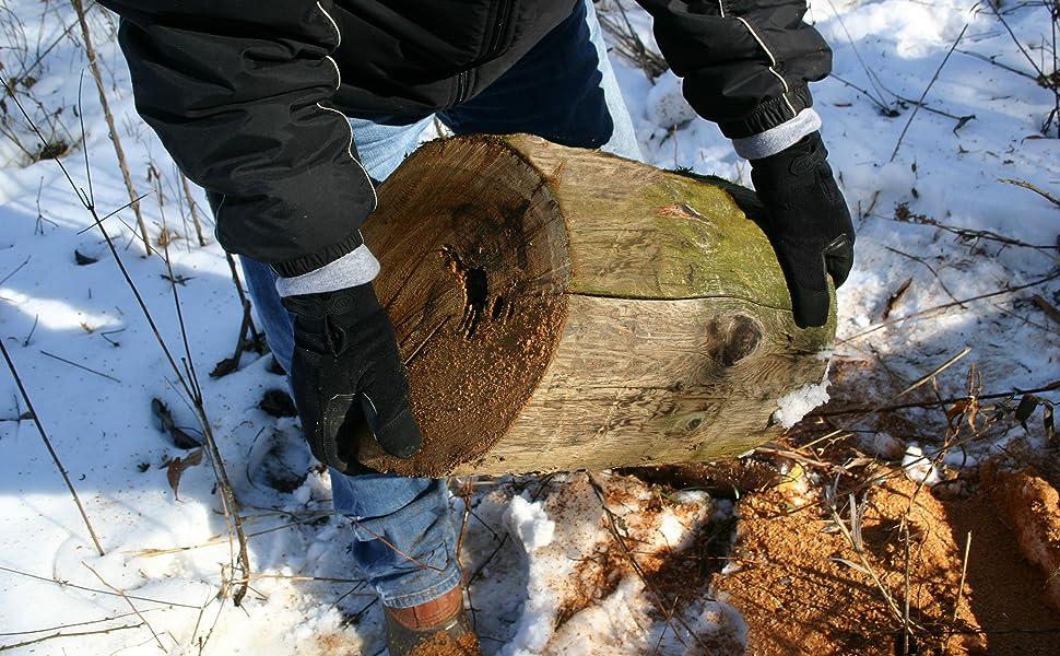 MWG Waterproof Winter action shot