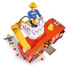 Pompiere, Sam, Fireman Sam, FMS, auto dei pompieri Pontypandy, luce blu