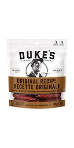 Duke's, Smoked, Shorty, Sausages, Original