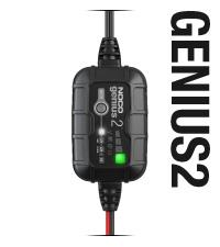 GENIUS2, 6V, 12V, charger, maintainer, battery desulfator, lead-acid batteries, 40 amp-hours