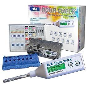 für 10 Messungen Wasssertest Test-Kit PO43- Söll Aqua-Check Indikator Phosphat
