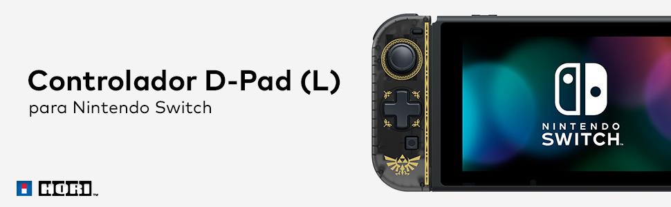 Hori - Controlador D-Pad (L) Zelda (Nintendo Switch): Amazon.es ...