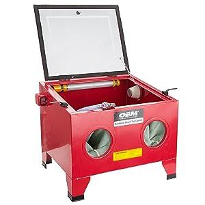 OEMTOOLS 24815 Bench Top Abrasive Blast Cabinet  sc 1 st  Amazon.com & OEMTOOLS 24815 Bench Top Abrasive Blast Cabinet - - Amazon.com