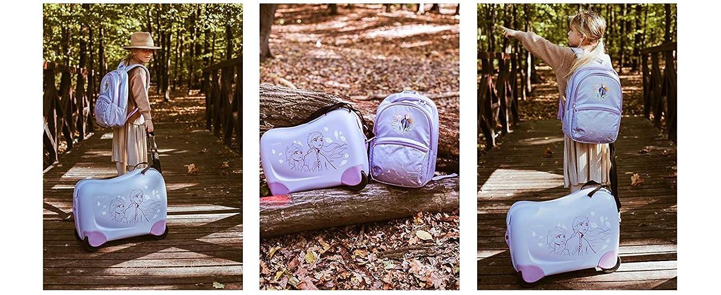 frozen; travel; kids; elsa; anna; let it go; trunki; schoolbag; kids bag; backpack;girls; samsonite