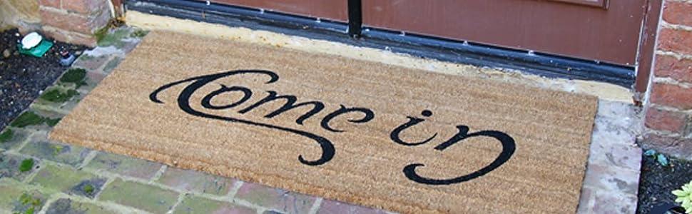 decorative door mat