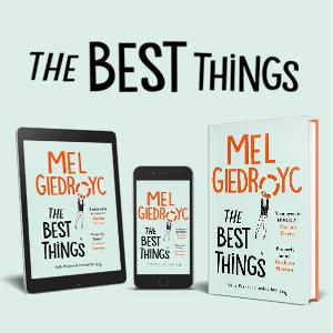 mel giedroyc the best things