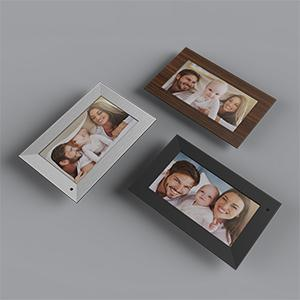 NIX Lux Digital Photo Frame 8 inch X08F, Wood. Electronic Photo Frame USB SD/SDHC. Digital Picture Frame with Motion Sensor. Control Remote and 8GB USB Stick Included 17