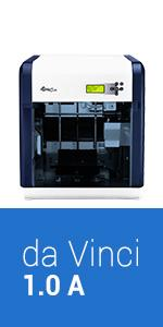 Amazon.com: XYZprinting da Vinci 1.0 Impresora 3d, color ...