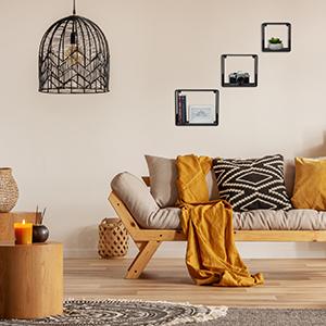 Hangrek decoratieve planken