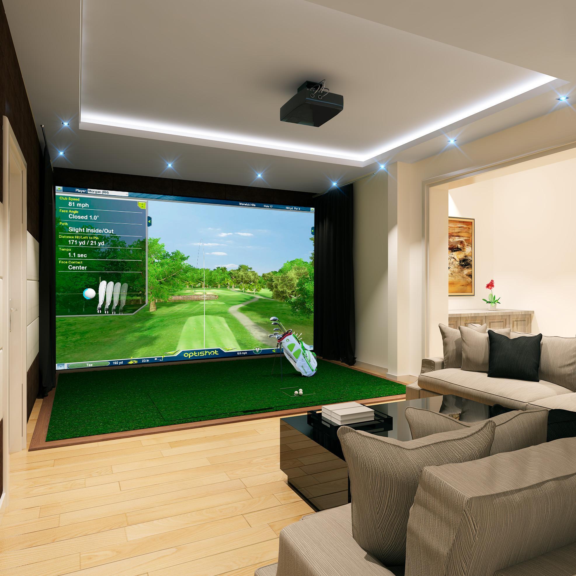 Rooms Review: Amazon.com : Optishot 2 Golf Simulator : Sports & Outdoors