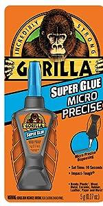 Gorilla Micro Prcise Super Glue