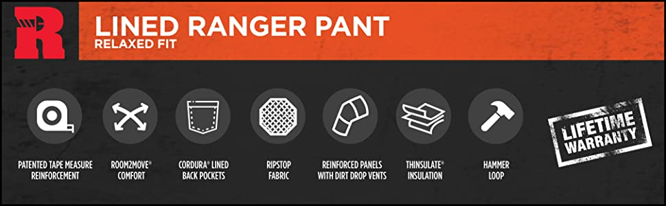 RIGGS Lined Ranger Pant