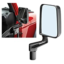 Bestop 51262-00 HighRock 4X4 Chrome Replacement Mirror Set for 86-06 Wranglers
