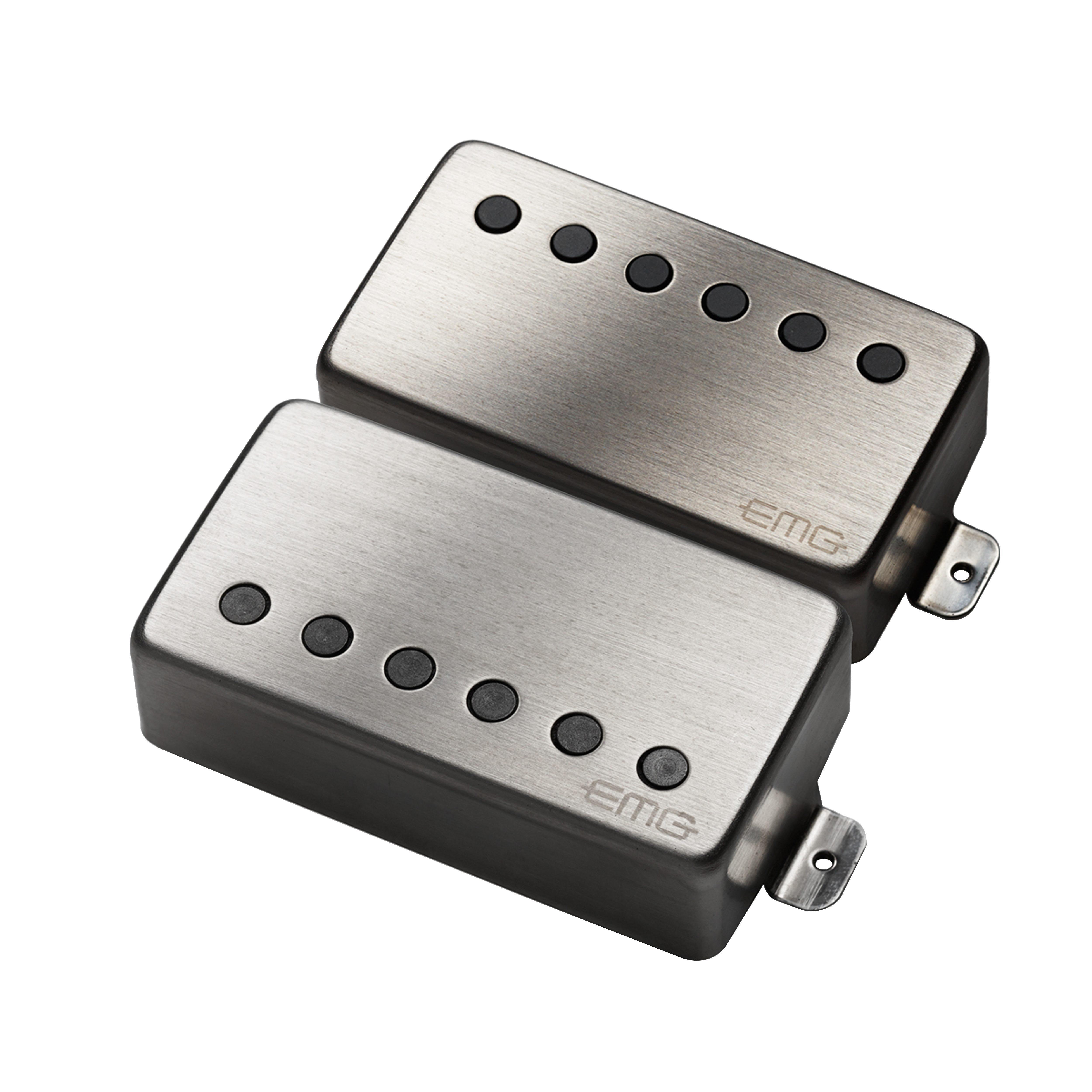 emg jh james hetfield electric guitar pickup set, brushed chrome James Hetfield Gear