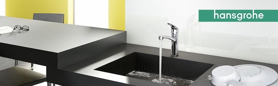 hansgrohe focus k chenarmatur 150 schwenkbar ausziehbar hoher auslauf 240mm chrom amazon. Black Bedroom Furniture Sets. Home Design Ideas