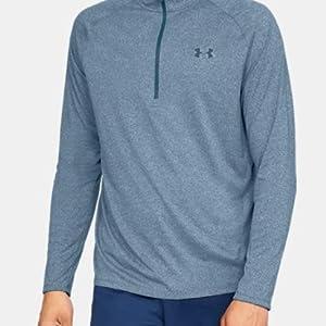 Camiseta de manga larga y media cremallera UA Tech™ 2.0 para hombre