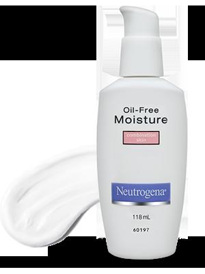 moisturizer; Neutrogena oil free moisture combination skin; combination skin moisturizer;