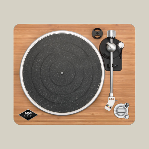 turntable top view