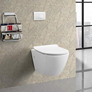 Wall Hung Toilet, Swiss Madison