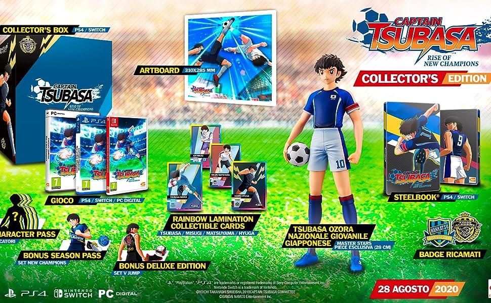 captain tsubasa collector's edition