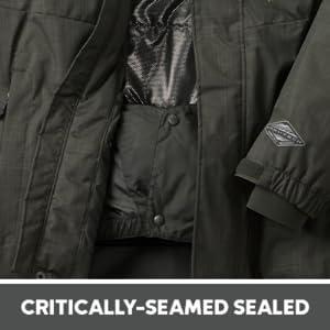 seamed sealed