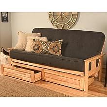 sofa, couch, adjustable, storage, futon, futon set, sleeper, sleeper sofa, mattress, guest, kids