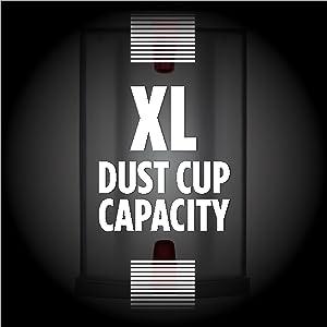 XL Capacity Vacuum