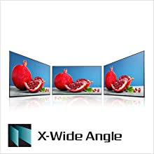 X-Wide Angle: Vibrant shades of colour from any viewing angle