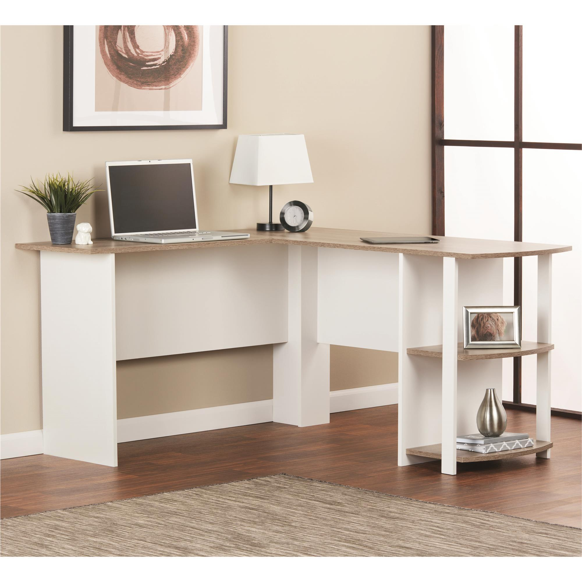 Bedroom Office: Amazon.com: Ameriwood Home Dakota L-Shaped Desk With