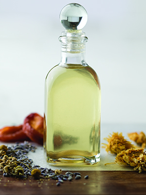 herbal body oil recipe diy