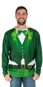 faux real, st. patty's, st. patrick's day, costume, t-shirt, hoodie, leggings, zip up, sweatshirt