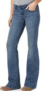 Wrangler Retro Mae Mid Rise Trouser Jean