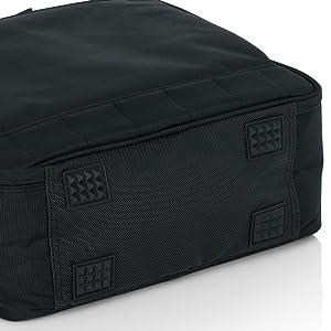 Bolsa de transporte acolchada de nailon con correa extra/íble; 21 x 15,9 x 7 cm Gator Cases G-MIXERBAG-0608