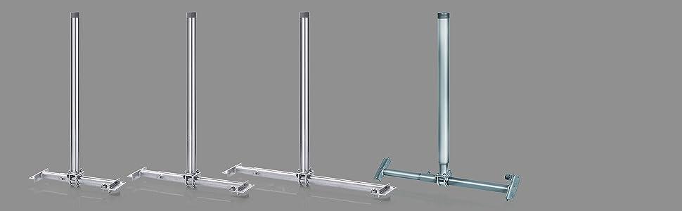 Fuba DSP 090 SMK – Soporte de fijación de Antena de satélite hasta 1 m de diámetro