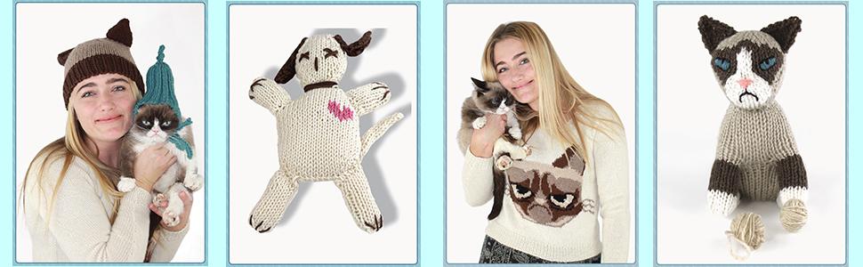 Amazon.com: Grumpy Cat Crochet & Felting Pattern PDF eBook: Quidor ... | 300x970