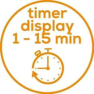 Mit Timer-Display