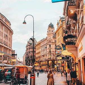 Vienna streetscape