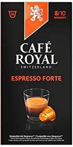 Lungo Forte · Espresso Forte · Ristretto · Espresso Decaffeinato