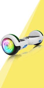 "Amazon.com: SISIGAD Bluetooth Hoverboard 6.5"" Self Balancing ..."