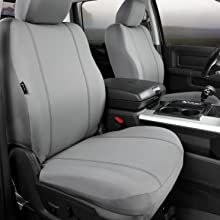 Seat Protector Custom Gray Buckets