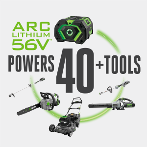 EGO, all batteries, all tools
