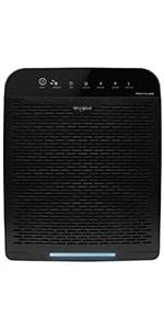 whirlpool air purifier wppro2000 black