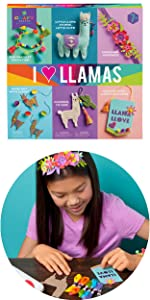 llama crafts for kids headband stuffie necklace crafts for kids ages 7 8 9 10
