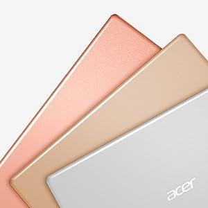 Acer Swift 1 Ultrabook Farben