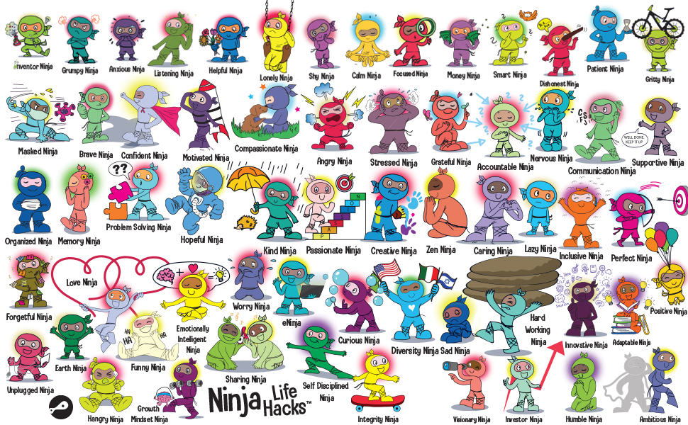 little spot of anger kindness starts with you ninja books for kids ninja books for toddlers ninjas - Unplugged Ninja: A Children's Book About Technology, Screen Time, And Finding Balance (Ninja Life Hacks)